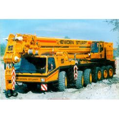 Аренда автокрана (140 тонн) KRUPP KMK- 6140 в Гатчине, Санкт-Петербурге и Ленобласти
