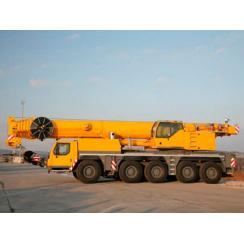 Аренда автокрана (160 тонн) LIEBHERR LTM 1160-5.1 в Гатчине, Санкт-Петербурге и Ленобласти