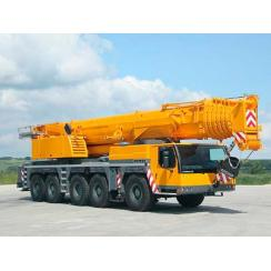 Аренда автокрана (200 тонн) LIEBHERR LTM 1200-5.1 в Гатчине, Санкт-Петербурге и Ленобласти