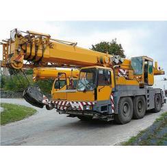 Аренда автокрана (50 тонн) LIEBHERR LTM 1050-4 в Гатчине, Санкт-Петербурге и Ленобласти