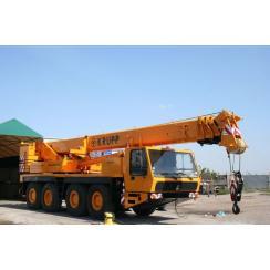 Аренда автокрана (70 тонн) KRUPP KMK- 4070 в Гатчине, Санкт-Петербурге и Ленобласти