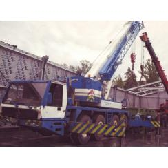 Аренда автокрана Krupp KMK 4055 (55 т) в Гатчине, Санкт-Петербурге и Ленобласти
