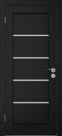 дверь с гозонтальным ресунком