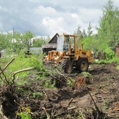 Раскорчёвка участка, цена на раскорчевку пней и деревьев в Гатчине, СПб и ЛО