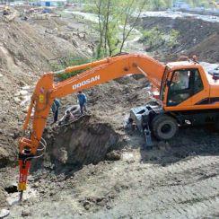Разработка грунта в Ленинградской области, цена на разработку грунта в котловане