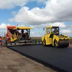 Строительство асфальтированных дорог в Гатчине, Санкт-Петербурге и Ленинградской области