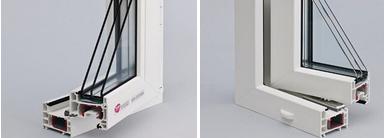 Окна Rehau Sib 70 мм