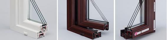 Окна Rehau Delight 70 мм